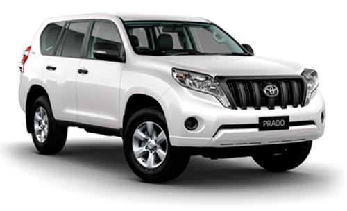 Toyota Prado Blindada o similar - Desde $416.500 COP